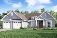 House Plan Design - Craftsman Exterior - Front Elevation Plan #430-159