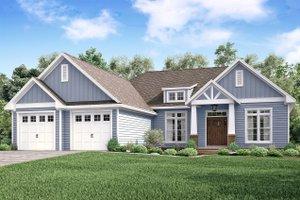 Craftsman Exterior - Front Elevation Plan #430-159