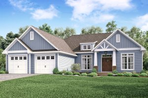 Craftsman Exterior - Front Elevation Plan #430-159