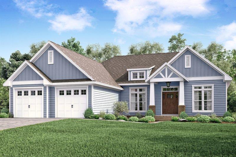 House Plan Design - Craftsman Exterior - Front Elevation Plan #430-159