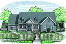Dream House Plan - Traditional Exterior - Front Elevation Plan #20-944