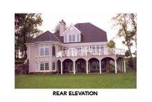 Dream House Plan - European Exterior - Other Elevation Plan #429-22
