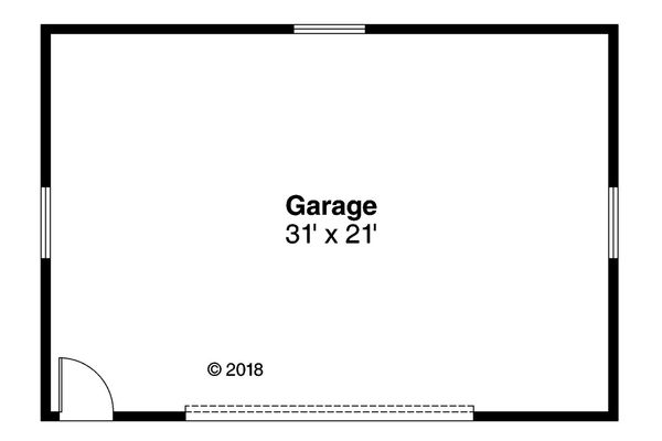 Log Floor Plan - Main Floor Plan Plan #124-1104