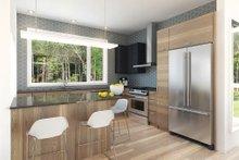 Contemporary Interior - Kitchen Plan #23-2312