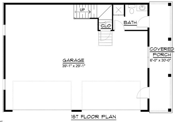 Dream House Plan - Country Floor Plan - Main Floor Plan #1064-77