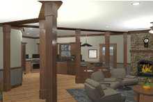 Architectural House Design - Craftsman Interior - Dining Room Plan #56-718