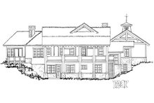 Country Exterior - Rear Elevation Plan #942-24