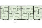 European Style House Plan - 3 Beds 2.5 Baths 6164 Sq/Ft Plan #17-2455 Floor Plan - Upper Floor Plan