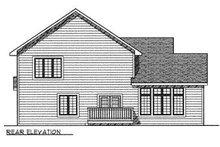 Traditional Exterior - Rear Elevation Plan #70-381