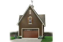 Colonial Exterior - Front Elevation Plan #23-435