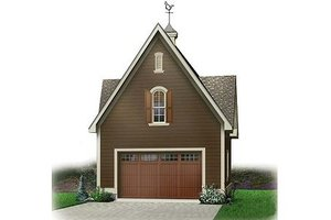 Dream House Plan - Colonial Exterior - Front Elevation Plan #23-435