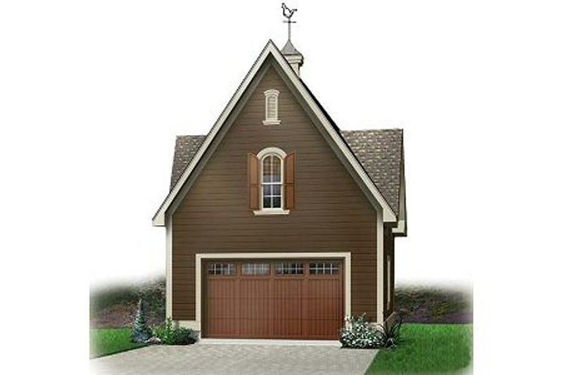 Colonial Exterior - Front Elevation Plan #23-435 - Houseplans.com