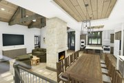 Farmhouse Style House Plan - 2 Beds 2.5 Baths 2442 Sq/Ft Plan #1069-21 Interior - Kitchen