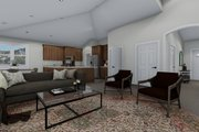 Traditional Style House Plan - 3 Beds 2 Baths 1972 Sq/Ft Plan #1060-45 Interior - Other