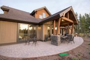 Craftsman Style House Plan - 3 Beds 4.5 Baths 2536 Sq/Ft Plan #892-11 Exterior - Outdoor Living