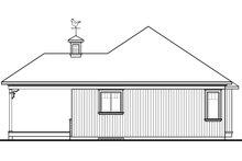 Architectural House Design - Modern Exterior - Rear Elevation Plan #23-2661
