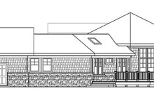 House Plan Design - Ranch Exterior - Other Elevation Plan #124-578