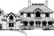 Southern Style House Plan - 4 Beds 5 Baths 4696 Sq/Ft Plan #27-207 Exterior - Other Elevation