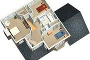 European Style House Plan - 3 Beds 1.5 Baths 1653 Sq/Ft Plan #25-4156