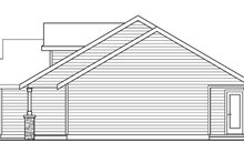 Dream House Plan - Craftsman Exterior - Other Elevation Plan #124-696