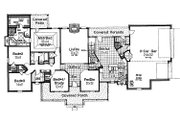 Traditional Style House Plan - 4 Beds 3 Baths 2539 Sq/Ft Plan #310-620 Floor Plan - Main Floor