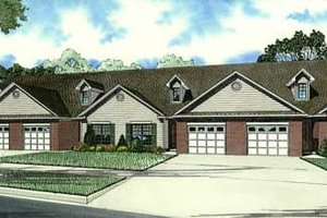 Traditional Exterior - Front Elevation Plan #17-2282