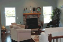 House Plan Design - Traditional Interior - Family Room Plan #20-2123