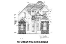 European Exterior - Other Elevation Plan #417-288