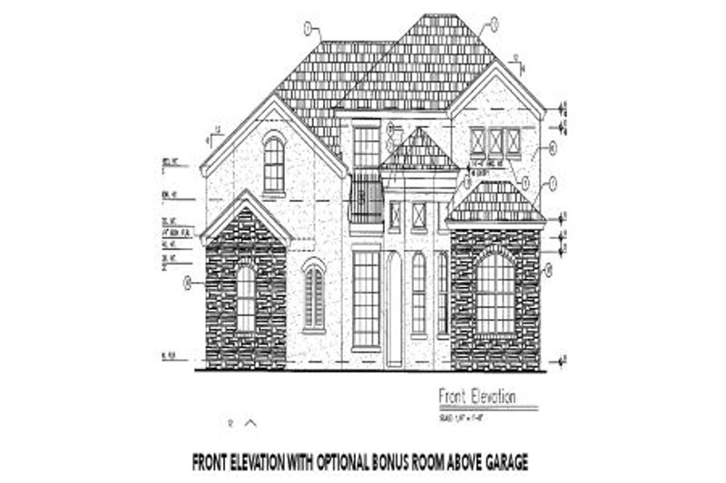 European Exterior - Other Elevation Plan #417-288 - Houseplans.com