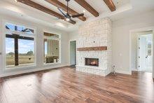 Craftsman Interior - Family Room Plan #430-179