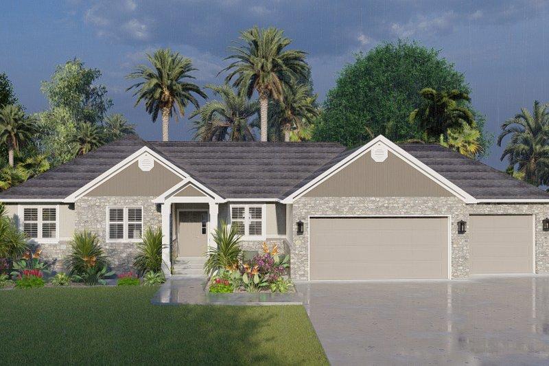 House Plan Design - Farmhouse Exterior - Front Elevation Plan #1060-104