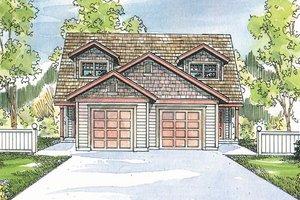 House Plan Design - Craftsman Exterior - Front Elevation Plan #124-808