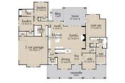 Farmhouse Style House Plan - 3 Beds 2.5 Baths 2787 Sq/Ft Plan #120-257 Floor Plan - Main Floor Plan