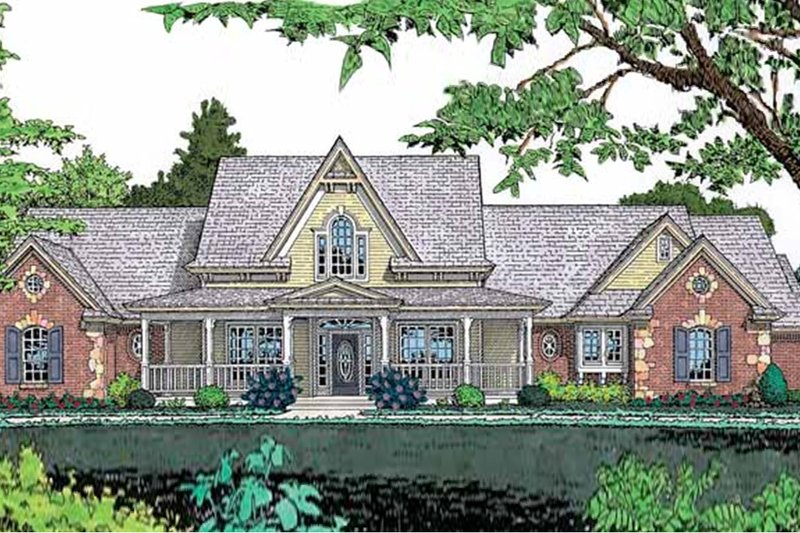House Design - Traditional Exterior - Front Elevation Plan #310-620