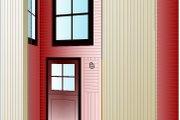 Modern Style House Plan - 2 Beds 2 Baths 1816 Sq/Ft Plan #525-1