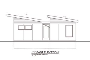 Modern Exterior - Front Elevation Plan #486-4