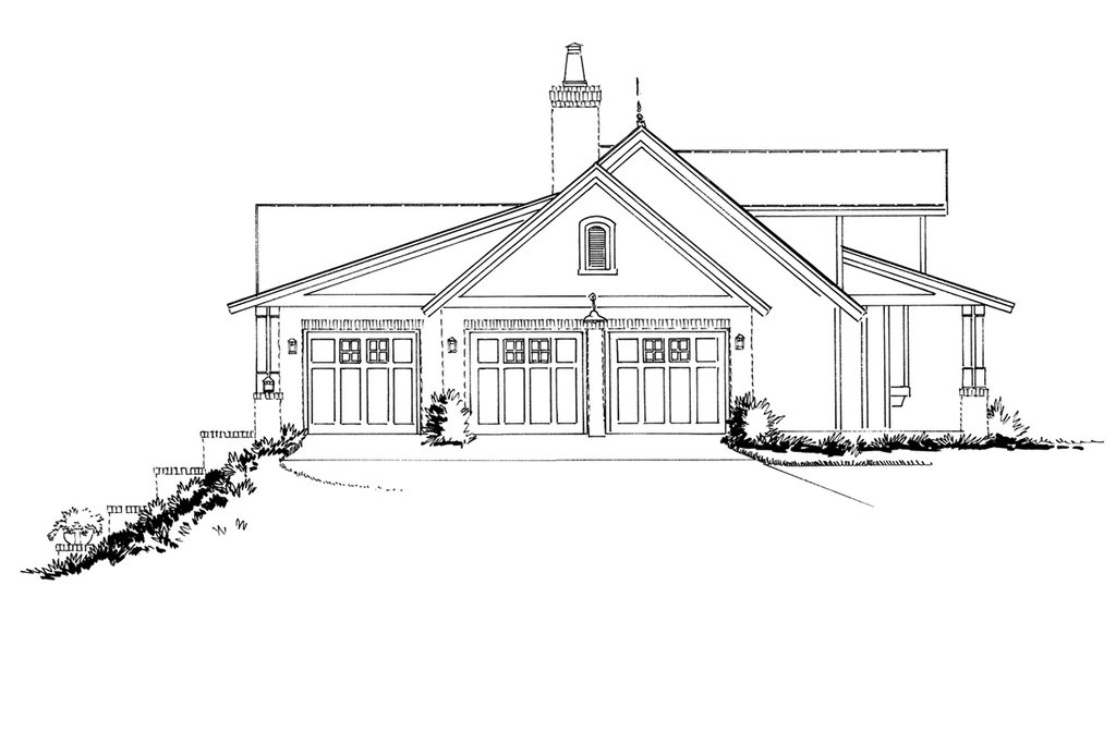country style house plan - 3 beds 2 5 baths 2251 sq  ft plan  942-57