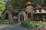 European Style House Plan - 3 Beds 4 Baths 3927 Sq/Ft Plan #120-182