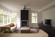 Modern Style House Plan - 3 Beds 2 Baths 2554 Sq/Ft Plan #496-20 Interior - Family Room