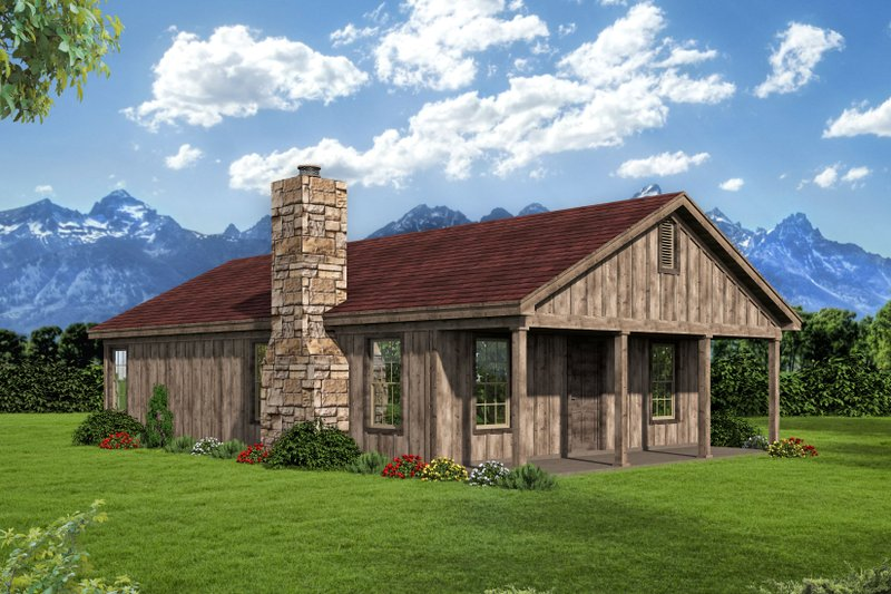 Home Plan - Country Exterior - Front Elevation Plan #932-199