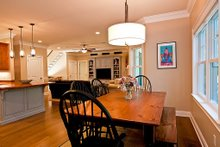 Architectural House Design - Breakfast nook - 3500 square foot Country Home