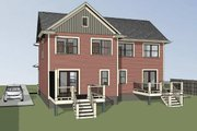 Southern Style House Plan - 2 Beds 2 Baths 2174 Sq/Ft Plan #79-240 Exterior - Other Elevation