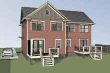 Southern Exterior - Other Elevation Plan #79-240