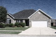 Ranch Style House Plan - 3 Beds 3 Baths 1620 Sq/Ft Plan #412-132 Exterior - Other Elevation