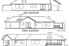 Dream House Plan - Traditional Exterior - Rear Elevation Plan #60-478
