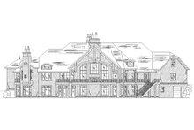 Dream House Plan - European Exterior - Rear Elevation Plan #5-449