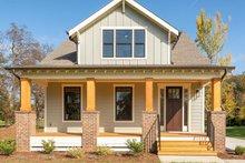 Architectural House Design - Craftsman Exterior - Front Elevation Plan #461-75