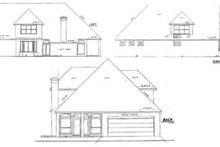 Dream House Plan - European Exterior - Rear Elevation Plan #52-163