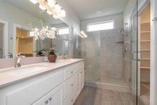 Craftsman Interior - Master Bathroom Plan #124-1166