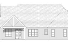 Country Exterior - Rear Elevation Plan #932-64